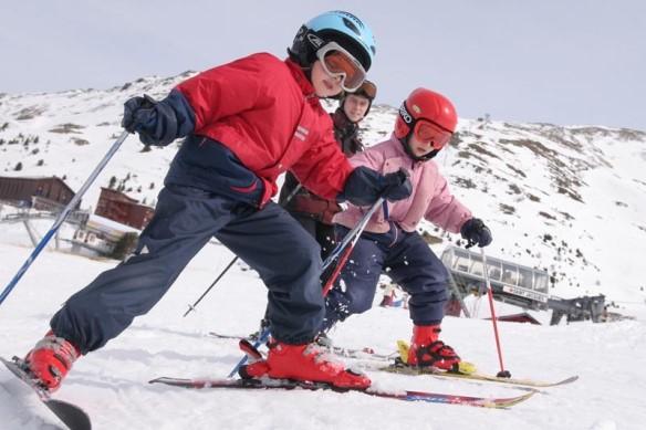Малыши и лыжи