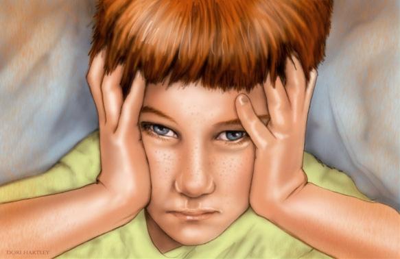 Откуда берется детская забывчивость, рассеянность и лень