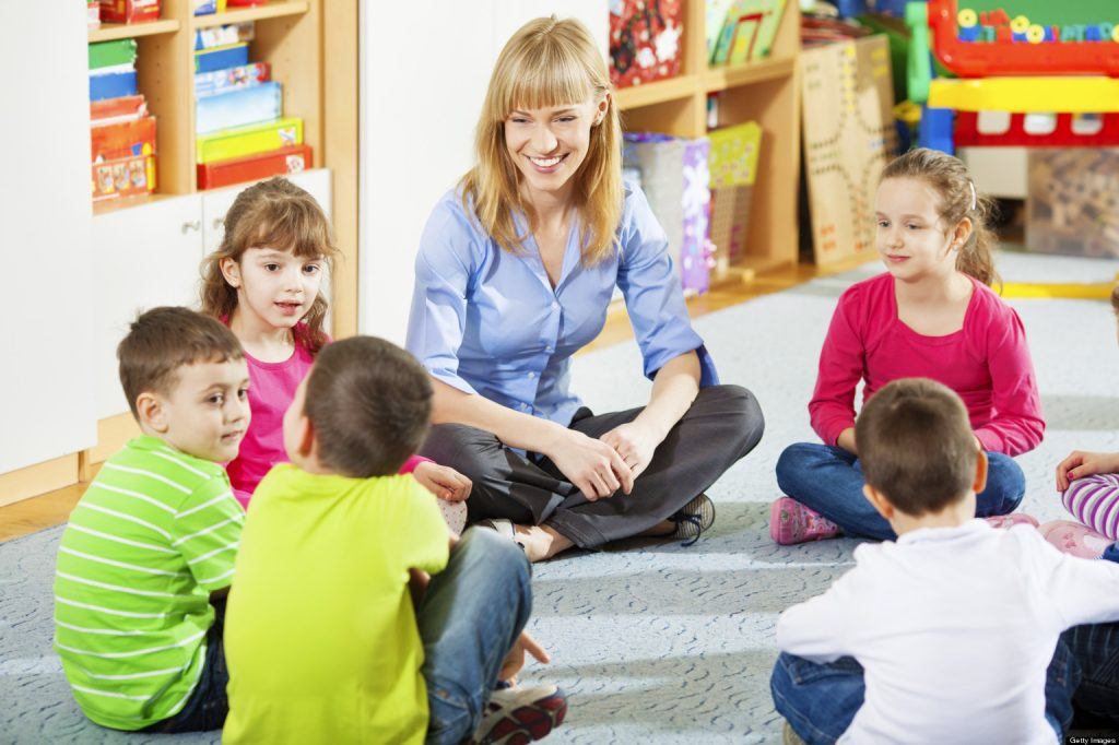 Развитие отношений с учителями и другими взрослыми, которые заботятся о наших детях.